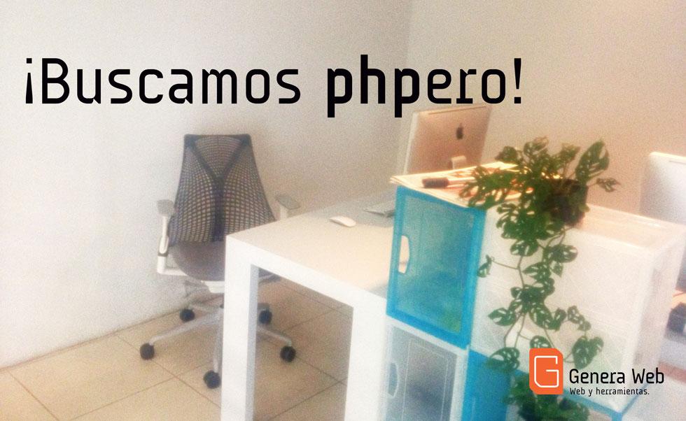 ¡Buscamos php-ero!